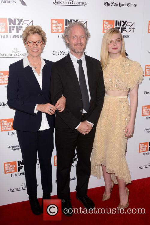 Annette Bening, Mike Mills and Elle Fanning