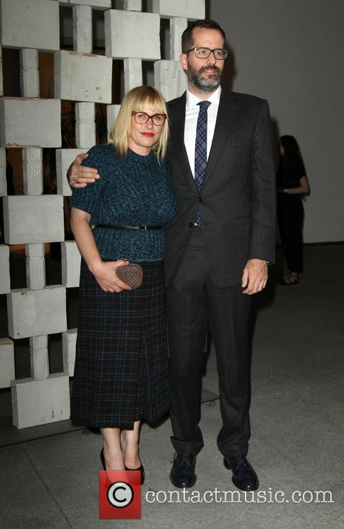 Patricia Arquette and Partner Eric White