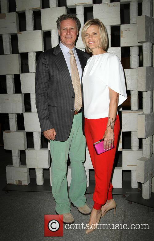 Will Ferrell and Wife Viveca Paulin
