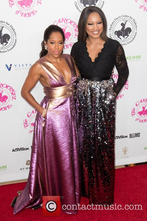 Regina King and Garcelle Beauvais