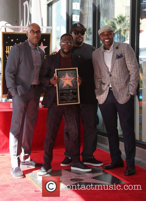 Kevin Hart, Ice Cube, Will Packer and Tim Story 8