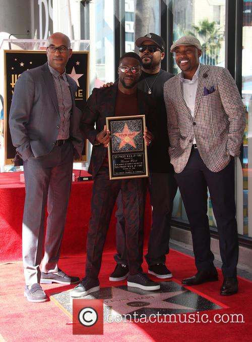 Kevin Hart, Ice Cube, Will Packer and Tim Story 10