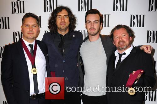 Snow Patrol, Paul Wilson, Jonny Quinn and Gary Lightbody 1