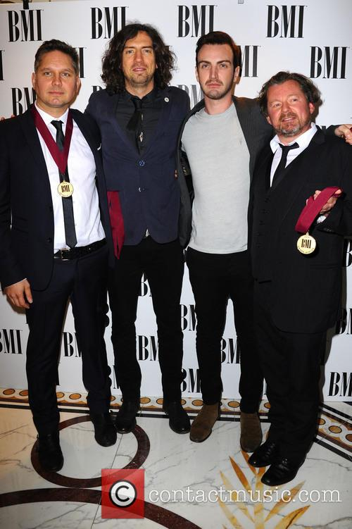 Snow Patrol, Paul Wilson, Jonny Quinn and Gary Lightbody 2