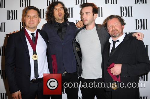 Snow Patrol, Paul Wilson, Jonny Quinn and Gary Lightbody 3