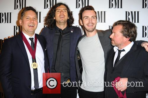 Snow Patrol, Paul Wilson, Jonny Quinn and Gary Lightbody 4