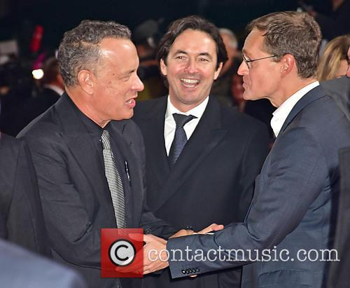 Tom Hanks, Martin Bachmann and Michael Mueller 1