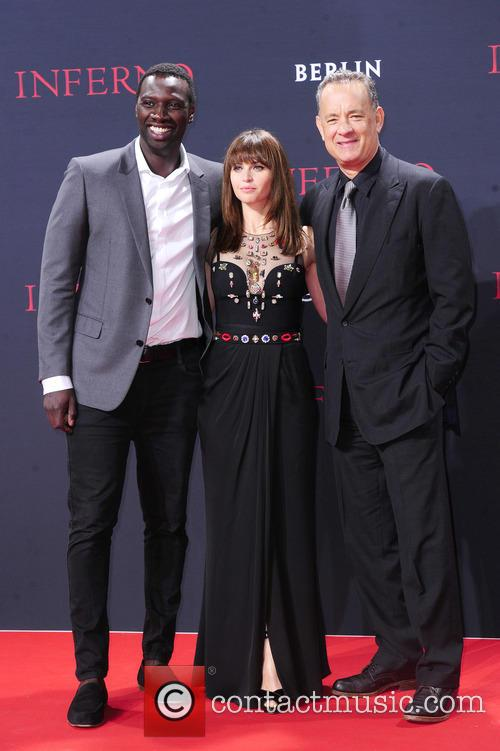 Omar Sy, Felicity Jones and Tom Hanks 4