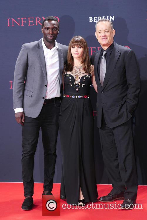Omar Sy, Felicity Jones and Tom Hanks 7