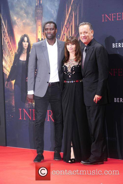 Omar Sy, Felicity Jones and Tom Hanks 11