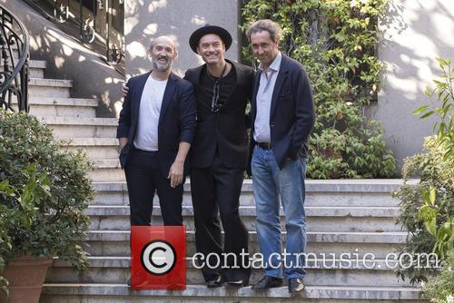 Paolo Sorrentino, Jude Law and Javier Camara 2