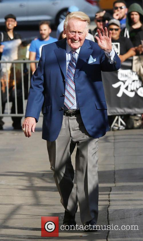 Jimmy Kimmel and Vin Scully 2
