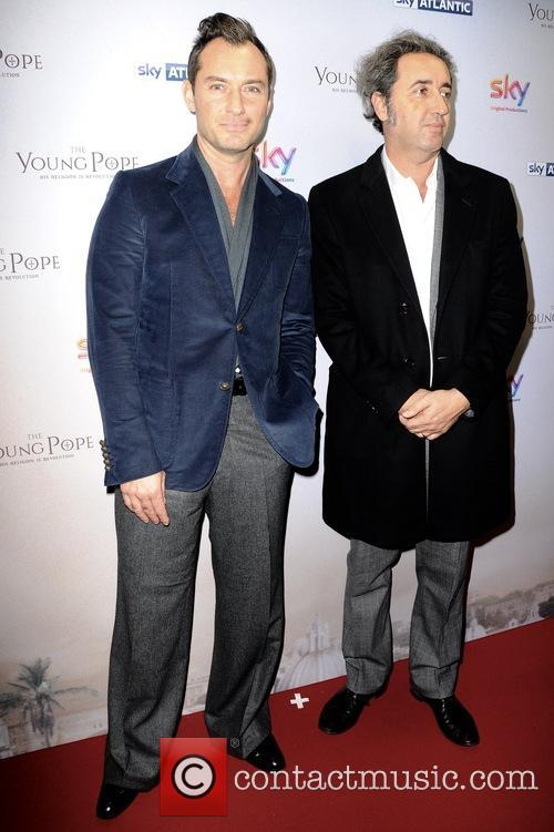 Jude Law and Paolo Sorrentino 2