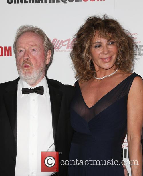 Ridley Scott and Giannina Scott 2