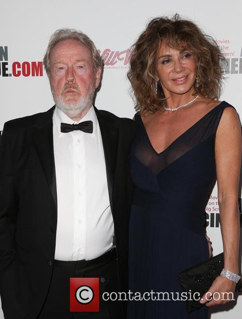 Ridley Scott and Giannina Scott 3
