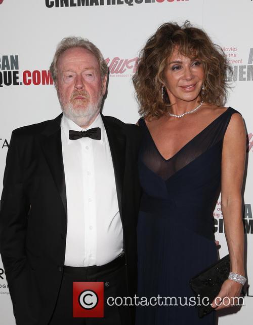 Ridley Scott and Giannina Scott 4