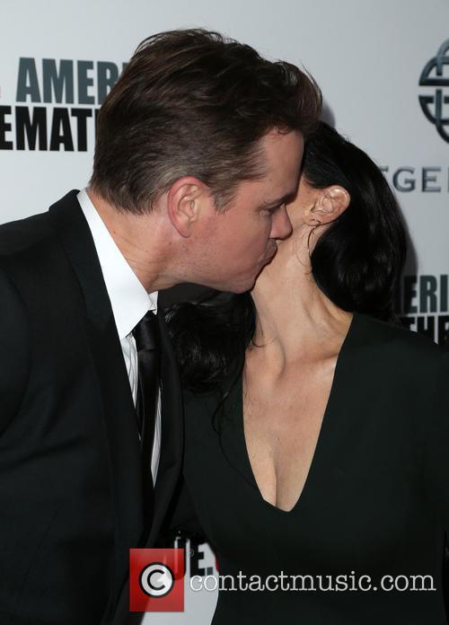 Matt Damon and Sonia Braga 7