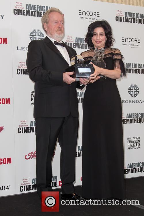 Sir Ridley Scott and Sue Kroll 6