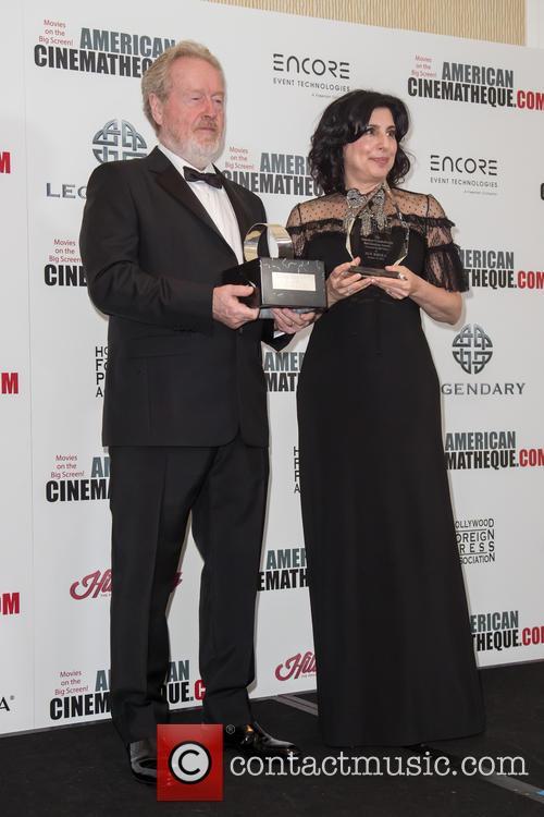 Sir Ridley Scott and Sue Kroll 7