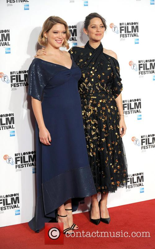 Lea Seydoux and Marion Cotillard