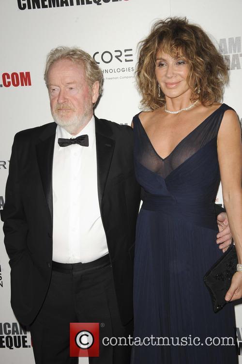 Ridley Scott and Giannina Scott 1