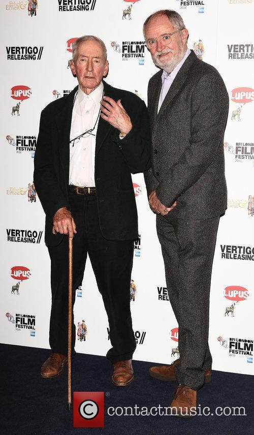 Raymond Briggs and Jim Broadbent