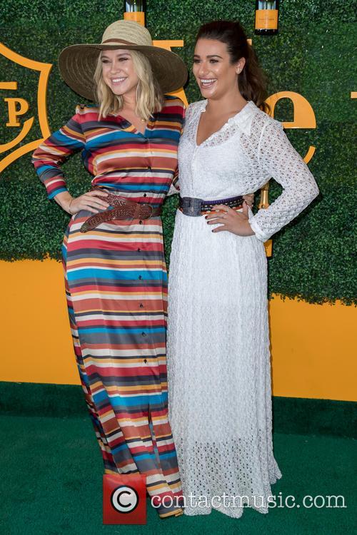 Becca Tobin and Lea Michele 5