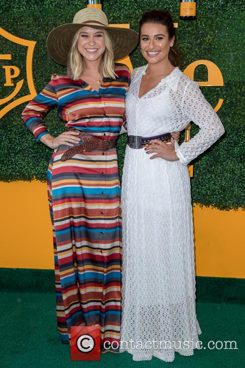 Becca Tobin and Lea Michele 6