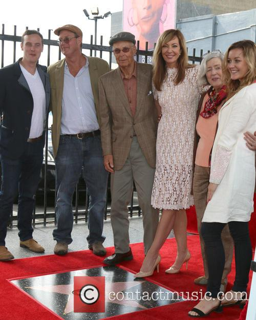Allison Janney and Family 11