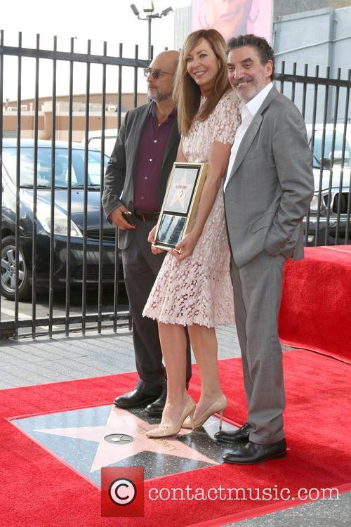 Richard Schiff, Allison Janney and Chuck Lorre 1