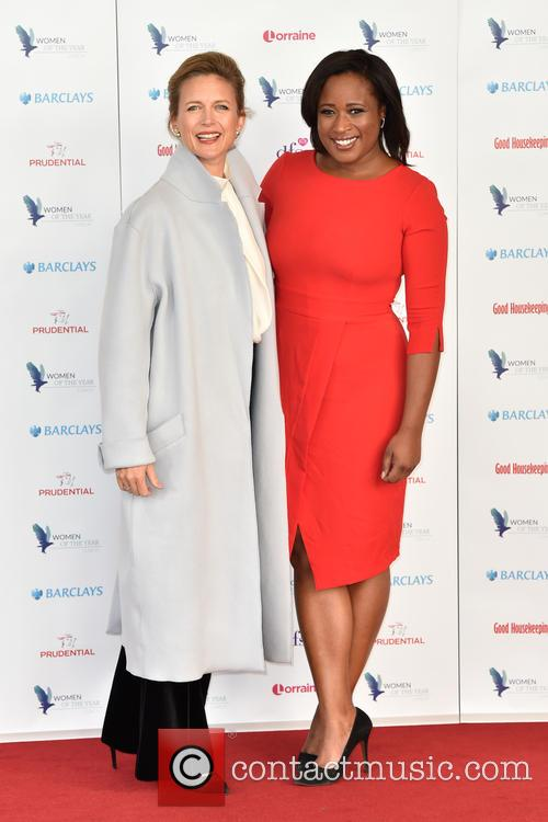 Katie Derham and Charlene White 1