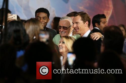 Stan Lee and Benedict Cumberbatch 9