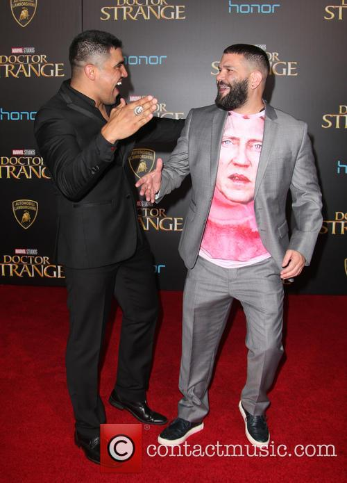 Guillermo Diaz and Victor Ortiz 6