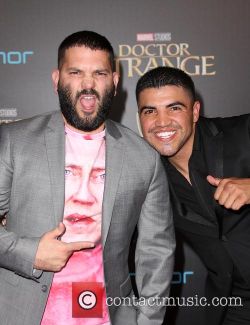 Guillermo Diaz and Victor Ortiz 8