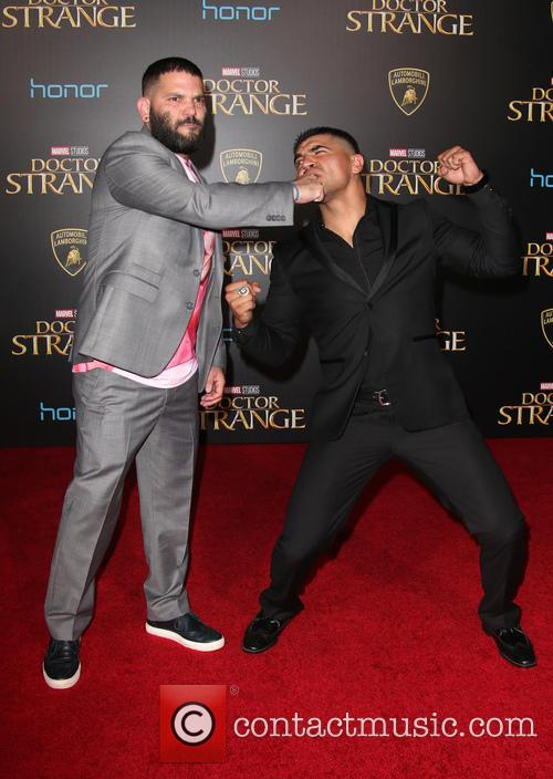 Guillermo Diaz and Victor Ortiz 9