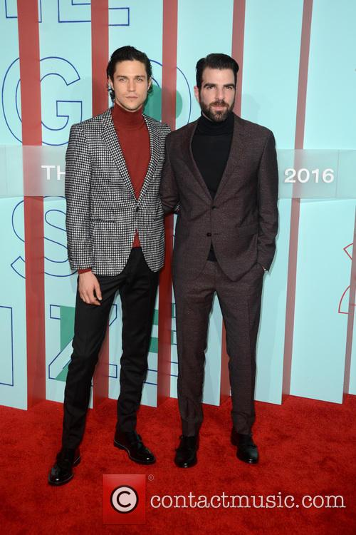 Miles Mcmillan and Zachary Quinto 2