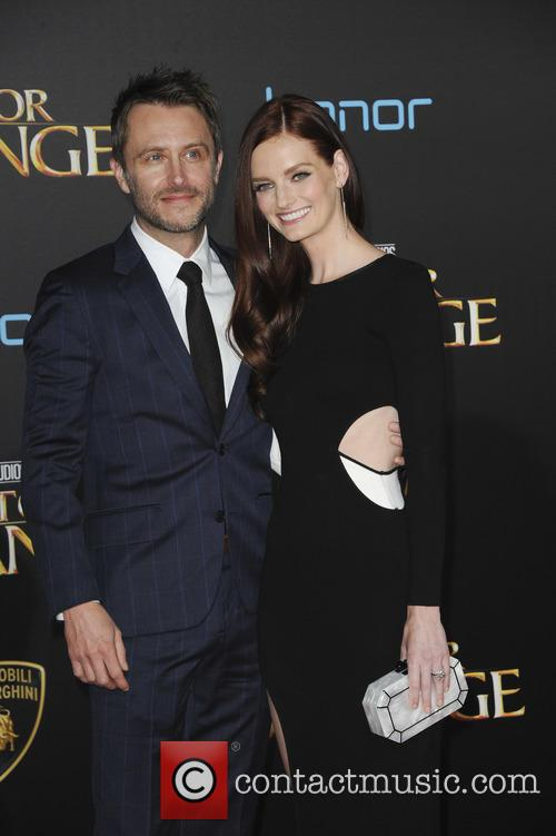 Lydia Hearst and Chris Hardwick