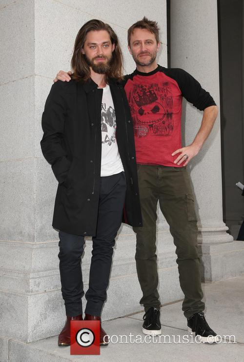 Tom Payne and Chris Hardwick