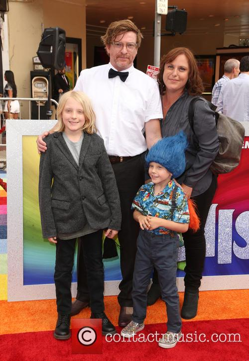 Rhys Darby and Family 4