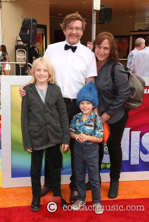 Rhys Darby and Family 5
