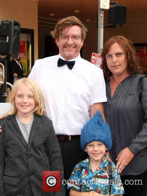 Rhys Darby and Family 7