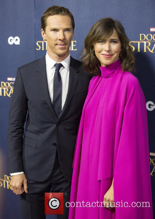 Benedict Cumberbatch and Sophie Hunter 2