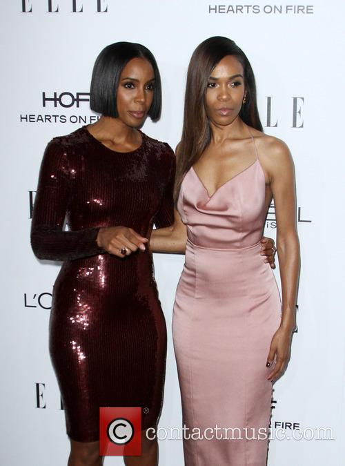 Kelly Rowland and Michelle Williams 11