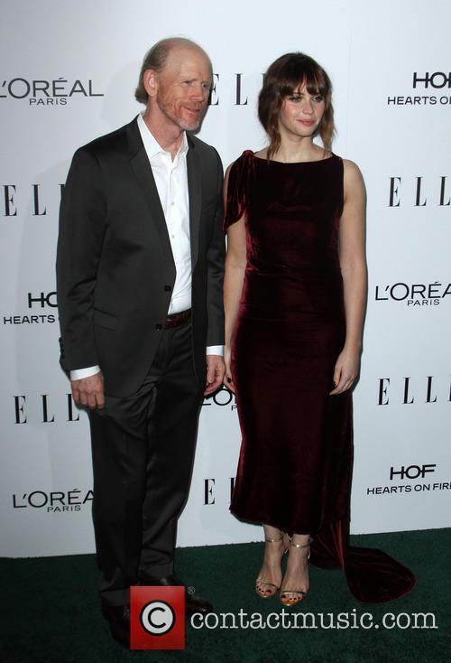 Ron Howard and Felicity Jones 6