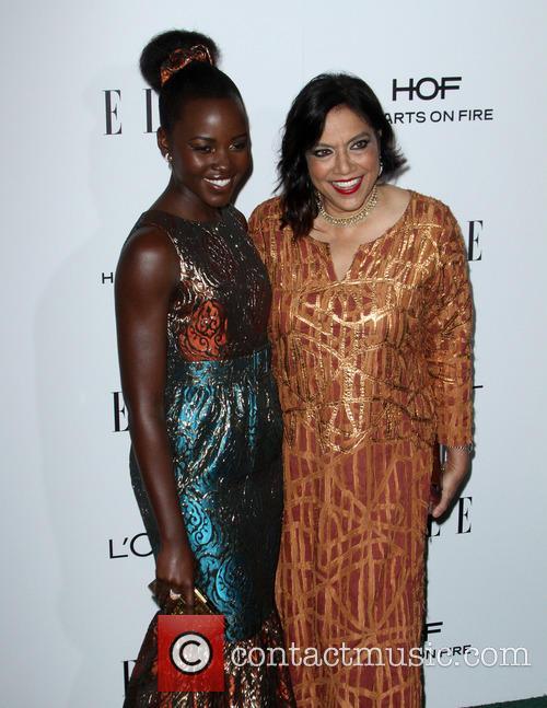 Lupita Nyong'o and Mira Nair