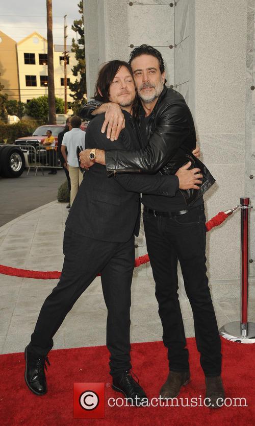 Jeffrey Dean Morgan and Norman Reedus 3