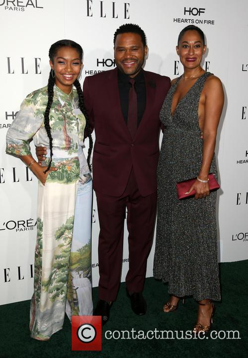 Yara Shahidi, Anthony Anderson and Tracee Ellis Ross 1