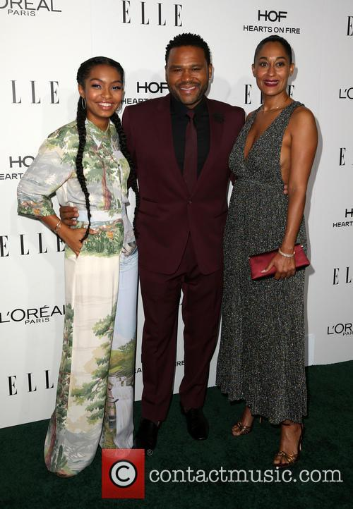 Yara Shahidi, Anthony Anderson and Tracee Ellis Ross 2