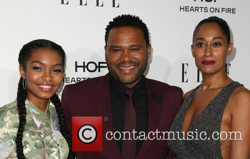 Yara Shahidi, Anthony Anderson and Tracee Ellis Ross 4