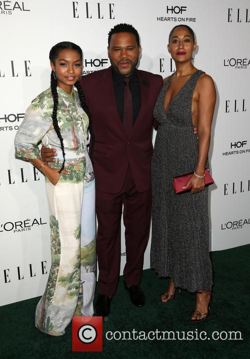 Yara Shahidi, Anthony Anderson and Tracee Ellis Ross 5